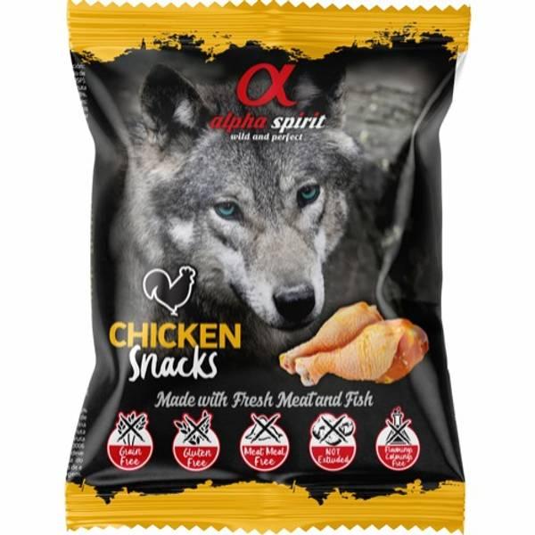 Bilde av Alpha Spirit chicken snack 50g