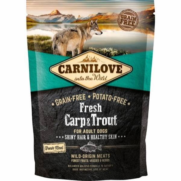 Bilde av Carnilove karpe og ørret for voksen hund 1,5KG